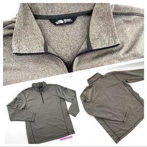 THE NORTH FACE Men's/Hommes 1/4 zip jacket Size L